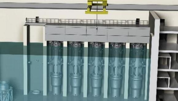 Малкият модулен реактор на Nu Scale навлиза в производствения етап
