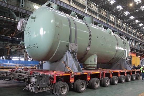 """Атоммаш"" изпрати пълния комплект прогенератори за трети блок на АЕЦ ""Куданкулам"" в Индия"