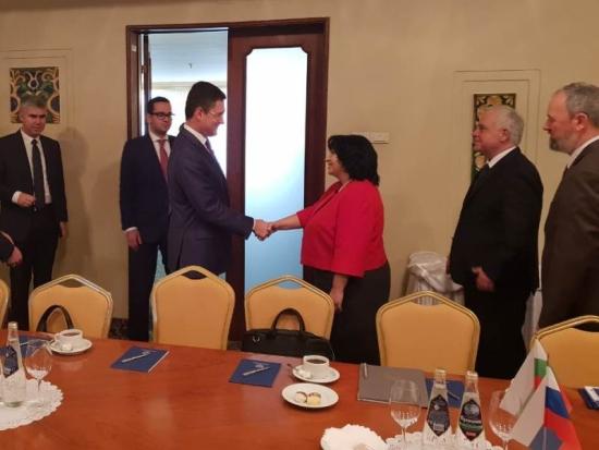 Руската страна потвърди интереса си към проекта АЕЦ «Белене»