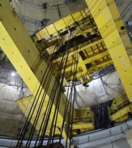 Полярният кран на реакторното отделение на втори блок на ЛАЕЦ-2 е тестван и готов за експлоатация