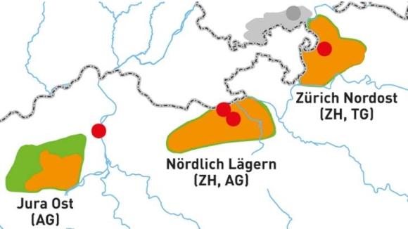 Швейцария – Определянето на площадките за изграждане на хранилища за РАО навлиза в заключителния етап