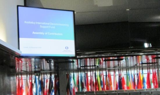 """Асамблеята на донорите на МФ """"Козлодуй"""" даде положителна оценка за хода на дейностите по извеждане от експлоатация на блокове 1-4 на АЕЦ """"Козлодуй"""""""