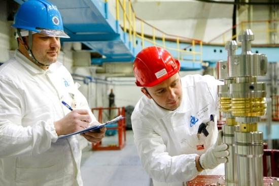В Курската АЕЦ за първи път започна промишлено производство на радиоизотопа Кобалт-60 (Co60)