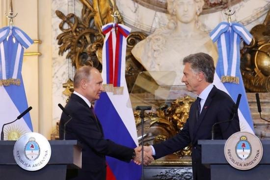 На срещата на върха на Г-20 Русия и Аржентина се споразумяха за изграждането на атомна електроцентрала в страната