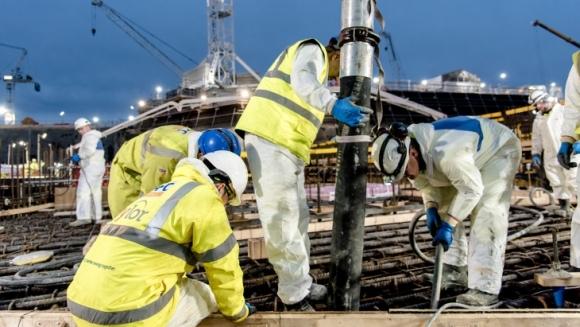 """Великобритания – АЕЦ """"Hinkley Point C"""" – Започна изливането на първия бетон във фундамента на ядрения остров"""
