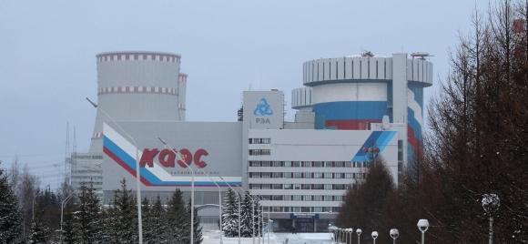 Делът на произведената електроенергия от Калининската АЕЦ в енергийния баланс на Тверска област надхвърля 83%