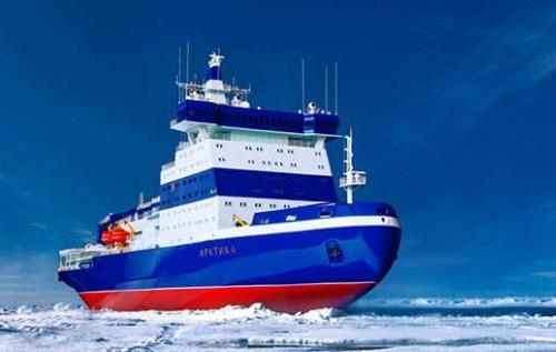"""Атомният ледоразбивач """"Арктика"""" ще бъде предаден на клиента до края на 2019 година"""