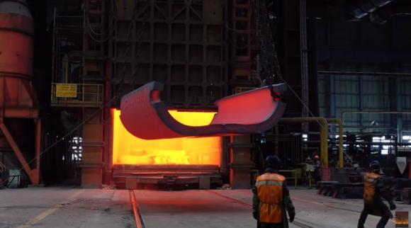 """В """"Атоммаш"""" се изработва дъното на корпуса на реактора за първи блок на АЕЦ """"Аккую"""""""
