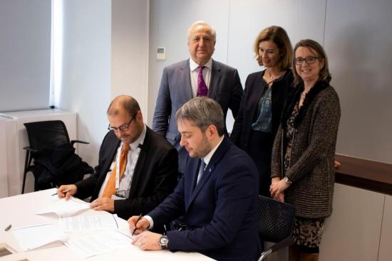 """""""Укрэнерго"""" подиса с ENTSO-E споразумение за сътрудничество"""