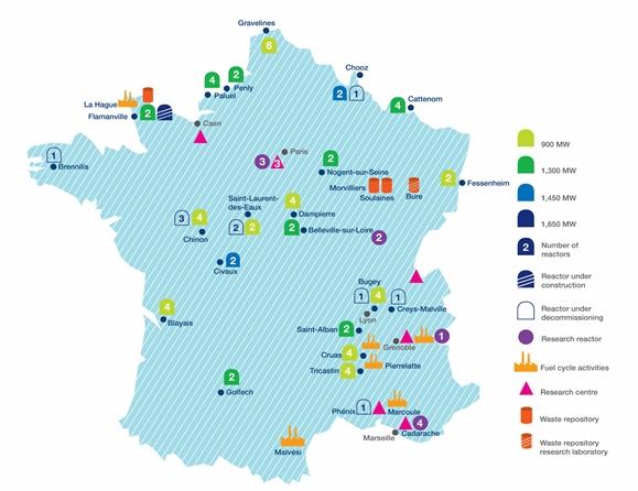 Френската ядрена индустрия определи средносрочните си планове