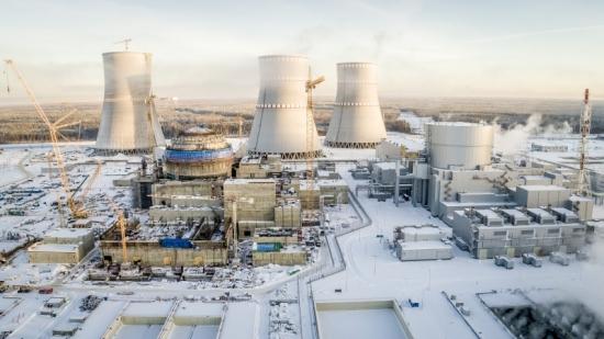 Ленинградска АЕЦ-2 – Завърши бетонирането на вътрешните конструкции на ядрения остров на втори енергоблок с ВВЭР-1200
