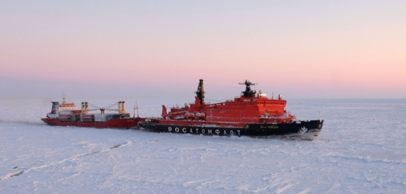 През 2018 година ледоразбивачите на Росатомфлот са отворили път в Арктика на 331 съда – общо 12,7 милиона бруто-регистър тона