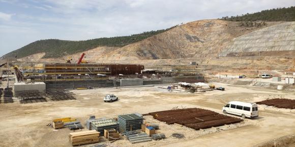 """На площадката на АЕЦ """"Аккую"""" в Турция приключи бетонирането на фундаментната плоча на Първи енергоблок – прессъобщение"""