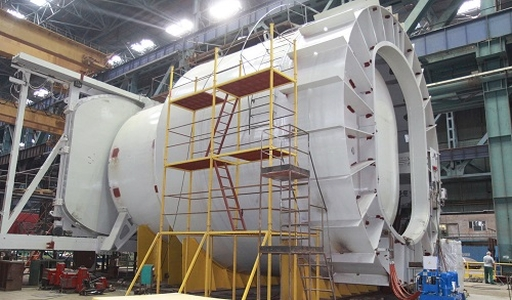 """В Ижорските заводи върви производството на крупногабаритно оборудване за 3-ти и 4-ти блок на индийската АЕЦ """"Куданкулам"""""""