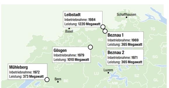 Швейцария – Нови изисквания за извеждане от експлоатация и управление на РАО натоварват допълнително операторите на АЕЦ