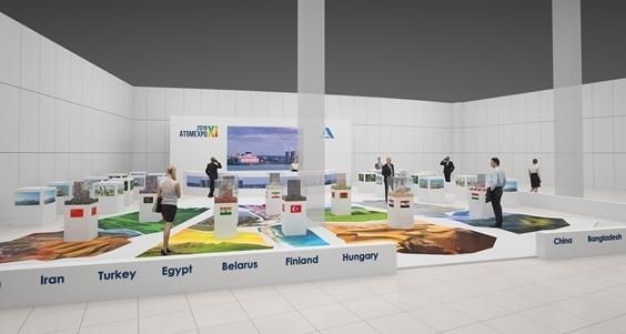 На Атомекспо-2019 АСЭ ще представи интерактивен макет на АЕЦ с реактор ВВЭР-1200