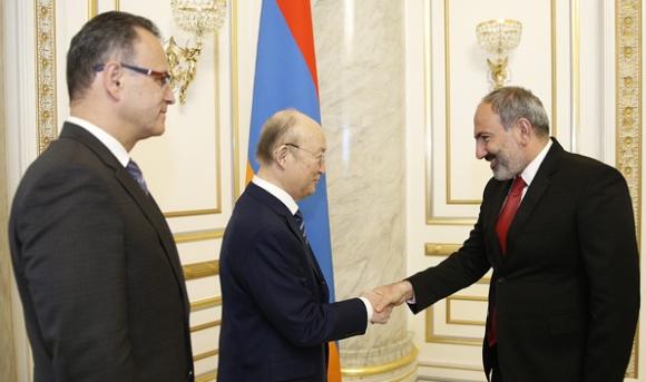 Армения – Пашинян и генералният директор на МААЕ обсъдиха задълбочаването на сътрудничеството