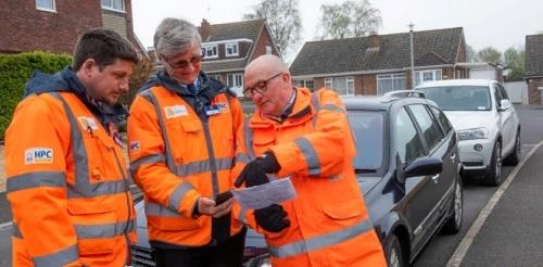 На изграждащата се АЕЦ Hinkley Point C (Великобритания) се предприемат мерки за противодействие на безпорядъчното паркиране на автомобили.