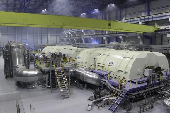 Нововоронежска АЕЦ-2 – Завършиха изпитанията на турбоагрегата на втори енергоблок на празен ход