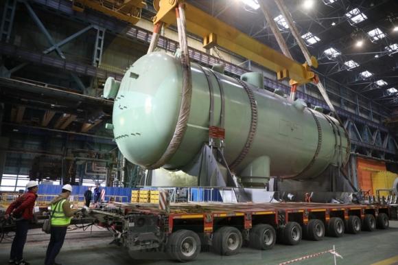 """Заводът """"Атоммаш"""" започна доставката на парогенераторите за четвърти блок на АЕЦ """"Куданкулам"""" в Индия"""