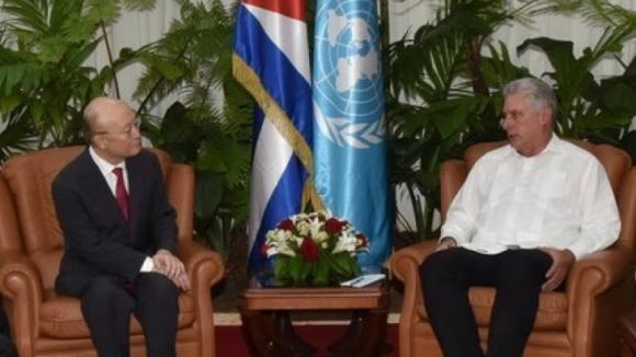 Генералният директор на МААЕ Юкия Амано посети Куба