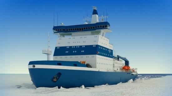 """Атомният ледоразбивач """"Урал"""" ще бъде спуснат на вода на 25 май в Петербург"""