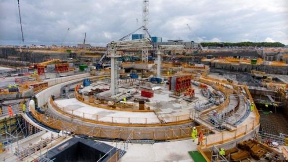 """Великобритания – Изграждането на първи блок на АЕЦ """"Hinkley Point C"""" се приближава към ключовата точка J0"""