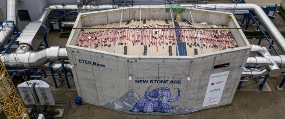 Siemens пусна първата станция за съхраняване на енергия в камъни