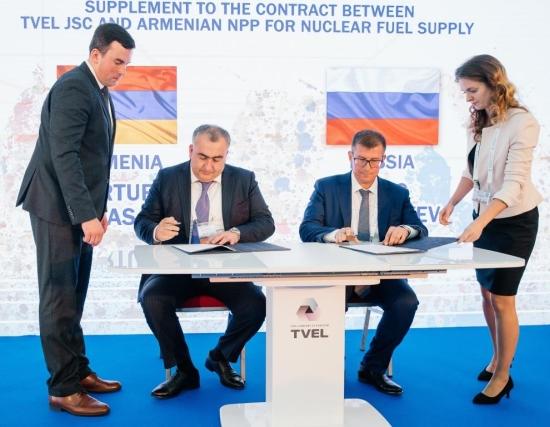 """Горивната компания на """"Росатом"""" – ТВЕЛ, ще допълни резерва от ядрено гориво за Арменската АЕЦ – прессъобщение"""