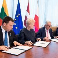 ЕС и балтийските страни са подписали пътна карта за синхронизиране на електроенергийните системи до 2025 година