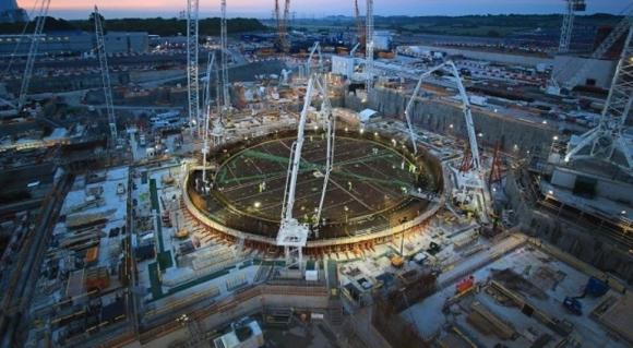 Hinkley Point C / EDF Energy обявяви завършването на фундамента за ядрения остров на първи енергоблок