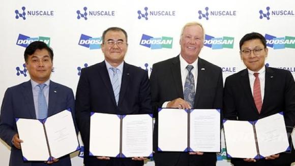 Южнокорейската Doosan и американската NuScale Power ще разработват съвместно ММР