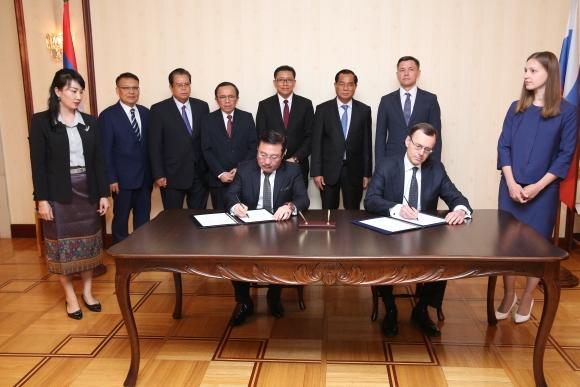 Русия и Лаос развиват заедно ядрената енергия за мирни цели – прессъобщение
