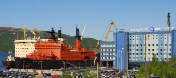 """Атомфлот"" обяви конкурс за 100 милиарда рубли за построяване на два атомни ледоразбивача"