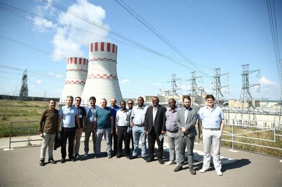 Нововоронежката АЕЦ  организира технически тур с участието на представители от 12 страни – прессъобщение