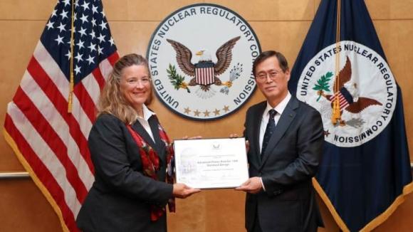 Дизайнът на корейския ядрен реактор APR-1400 получи сертификат за използване в САЩ