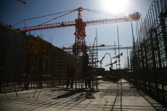 Курска АЕЦ – Втори енергоблок – Завърши изливането на фундамента на сградата за електроснабдяване при нормална експлоатация