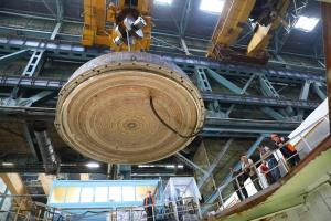 Корпусът на изследователския реактор МБИР премина хидравличните изпитания