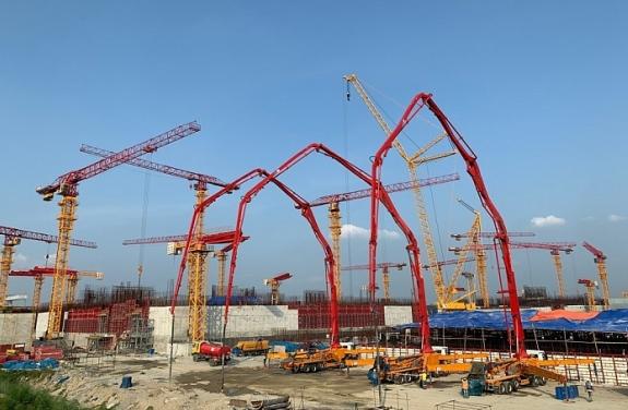 """Завърши бетонирането на фундаментната плоча за Машинна зала на Втори енергоблок на АЕЦ """"Рупур"""" в Бангладеш"""