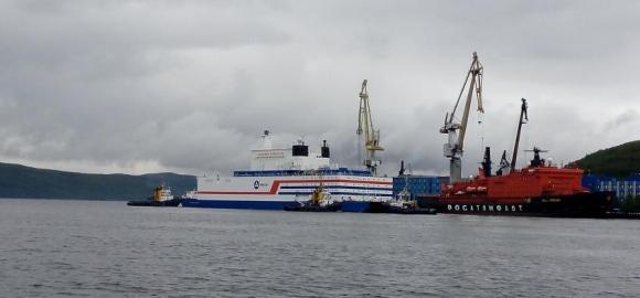 """Росгвардия ще охранява плаващия ядрен енергоблок """"Академик Ломоносов"""""""