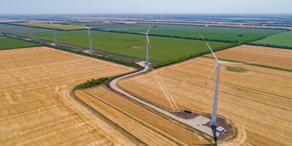 НоваВинд ще въведе в експлоатация до края на годината най-големия вятърен парк в Русия