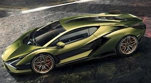 Lamborghini представи първия в света хибрид на суперкондензатори