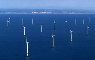 Във Великобритания ще построят най-големия в света офшорен вятърен парк