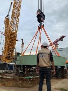 """Бангладеш – АЕЦ """"Руппур"""" – В ядрения остров на първи блок бе поставена в проектно положение опорната ферма на реактора"""