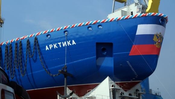"""Новият атомен ледоразбивач """"Арктика"""" ще излезе във Финския залив още на 12 декември"""