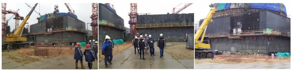 Губернаторът на Курска област инспектира изграждането на Курската АЕЦ-2