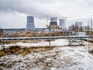 """Новият енергоблок на Ленинградската АЕЦ """"ВВЕР-1200"""" вече подава топлинна енергия на града-спътник Сосновый Бор"""