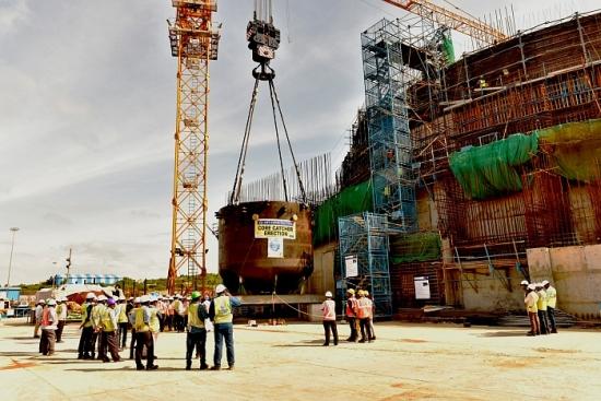 """Индия – АЕЦ """"Куданкулам"""" – Уловителят на стопилката е монтиран под реактора на трети блок"""