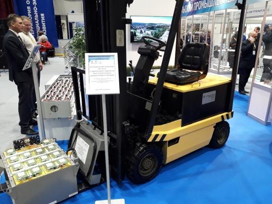 Росатом внедрява във вътрешно-заводския транспорт литиево-йонни тягови акумулаторни батерии собствено производство