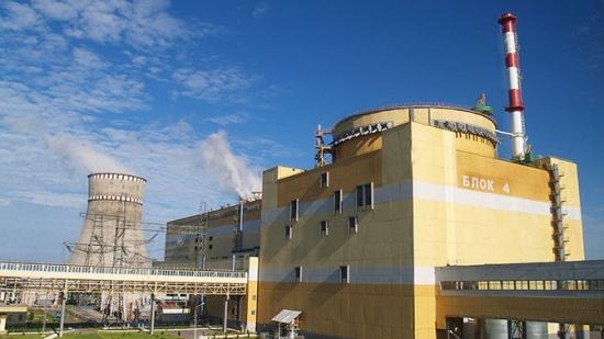 Украйна – Блок 4 на Ровненската АЕЦ е изключен от електропреносната мрежа за текущ ремонт